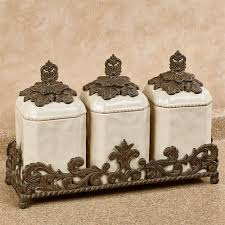 kitchen canister set provincial kitchen canister set in holder