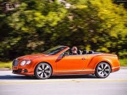 bentley orange bentley continental gt speed convertible 2014 pictures