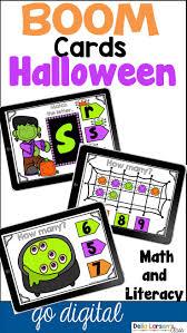 boom cards halloween math and litercy bundle halloween math