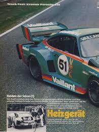 vaillant porsche kremer porsche 935k2 sport auto 11 1977 deutsch porsche cars