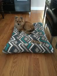 how to make a diy burrow dog bed homemade pet beds bed photos