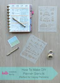 create your own planner template how to make diy planner stencils perfect for happy planners how to make diy planner stencils perfect for happy planners