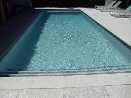 Pool Patios by Shellstone Grey Pool Patio With Specialty Gem Tile Matrix Z