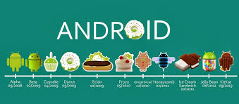 version of android evolution of android 1 0 to android 5 0 list of android