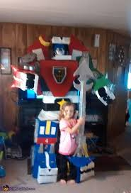 Voltron Halloween Costume Homemade Voltron Costume Photo 2 3