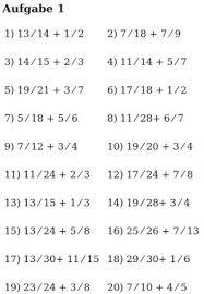 mathe brüche klasse 6 mathe ist einfach brüche addieren blatt 2 bruchrechnen aufgaben