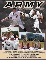 2013 army baseball media guide by army west point athletics issuu