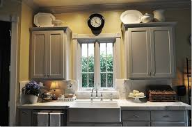 Kitchen Yellow Walls - grey kitchen cabinets yellow walls lakecountrykeys com
