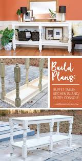 how to make a buffet table diy rustic buffet table rustic buffet tables rustic buffet and
