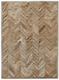 Patchwork Area Rug Rugs Patchwork Cowhide Yves Wheat Area Rug Reviews Wayfair