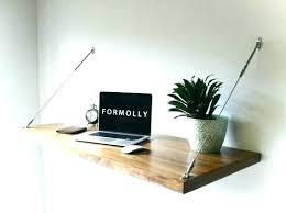 Small Wall Desk Wall Office Desk Wall Mounted Desk Office Wall Mount Office