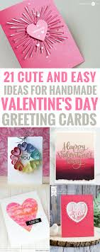 handmade cards 21 amazingly and easy ideas for handmade s day cards