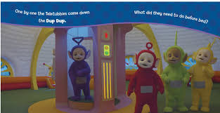 good night teletubbies book maggie testa official