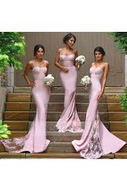 pink bridesmaid dresses shop discount pink lace sweep sweetheart bridesmaid dresses