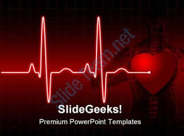 powerpoint templates free download heart ecg ppt templates free download ecg medical powerpoint template 0610