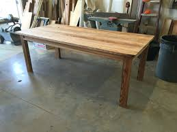 dining table custom made reclaimed wood dining table custom made