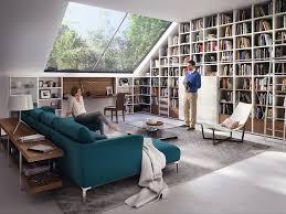 meuble tv caché meuble tv bibliothèque en 40 idées pour organiser le rangement