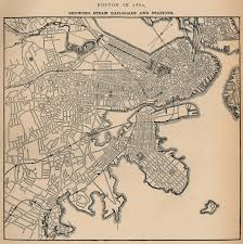Back Bay Boston Map by Suffolk County Massachusetts Maps And Gazetteers