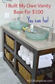 Redo Bathroom Vanity Build Your Own Bathroom Vanity Fraufleur Com