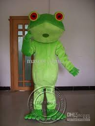 Frog Halloween Costume Cute Green Tree Frog Animal Mascot Costumes Halloween Costume Fany