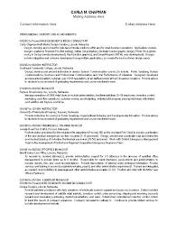 Pilot Sample Resume Lofty Idea by Film Resume Template Video Resumes Samples Film Resume Format