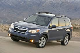 2014 subaru forester manual awd pzev first test truck trend