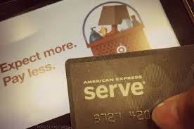 serve prepaid card using the american express serve back prepaid debit card to