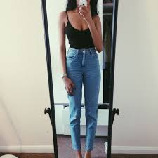 High Waisted Jeans For Kids 25 Best Vintage Jeans Ideas On Pinterest Boyfriend Style