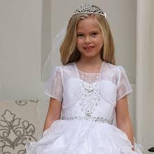communion headpieces garment white rhinestone tiara communion flower girl