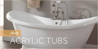 Best Acrylic Bathtubs Acrylic Bathtubs Vs Cast Iron Bathtubs