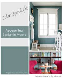 aegean teal by benjamin moore is one of the best rich teal paint