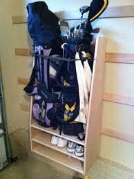 Garage Golf Bag Organizer - golf bag organizer built by ryobi nation member broski0433 great