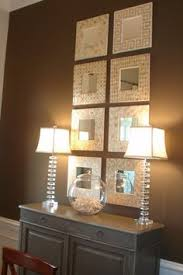 Mirrors In Dining Room Adding Multiple Little Mirrors Instead Of One Large Mirror Adds