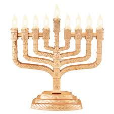 electric menorah hanukkah gifts menorahs matte gold twelve tribes electric menorah