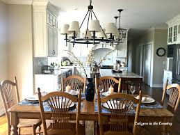 Blue And White Kitchen Summer Inspired Kitchen Table Setting Calypso In The Country