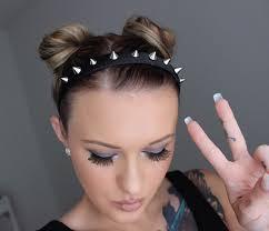 spiked headband spiked headband black spiked headband silver spike pastel