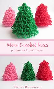 images of free crochet christmas tree ornament patterns all can