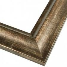 Bronze Bathroom Mirrors by Antique Bronze Rectangle Mirror With Nested Frame