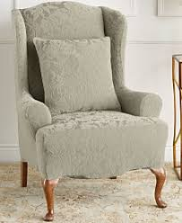 slipcover wing chair wing chair slip covers macy s