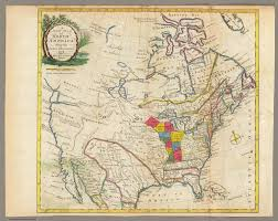 New Map Of The United States by New Map Of North America David Rumsey Historical Map Collection