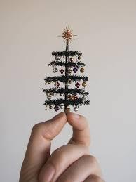 tiny tree ornaments trees with lights