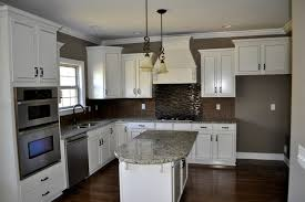 Backsplash With White Kitchen Cabinets Charming White Kitchen Cabinets What Color Backsplash Kitchen