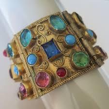 vintage bracelet ebay images 77 best etruscan revival images charm bracelets jpg