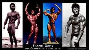 strength fighter 3 time mr olympia frank zane