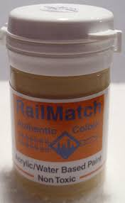 railmatch 2426 weathered stone general colour acrylic paint