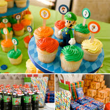 super mario first birthday party theme at home with kim vallee