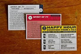 Designs Of Menu Card 15 Great Examples Of Menu Designs Menu Typography And Signage