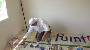 painting a floor how to paint a room interior house painting tools 1 youtube