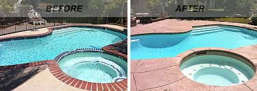 Renovate Backyard Swimming Pool Renovations Before And After Intheswim Pool Blog