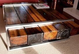 photo railway sleeper coffee table images folding rattan table